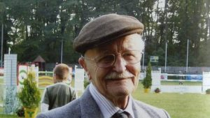 Zbigniew Gutowski at a horse show during a visit to Warsaw in 2006. (Tanya Norman)