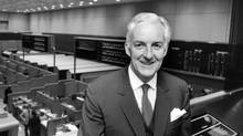 J. Pearce Bunting embraced technology at the Toronto Stock Exchange